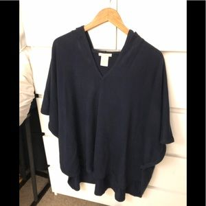 Perfect Navy Sweater/poncho